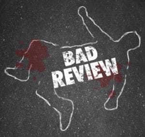 A bad Review isnt always bad, but too many can kill your business