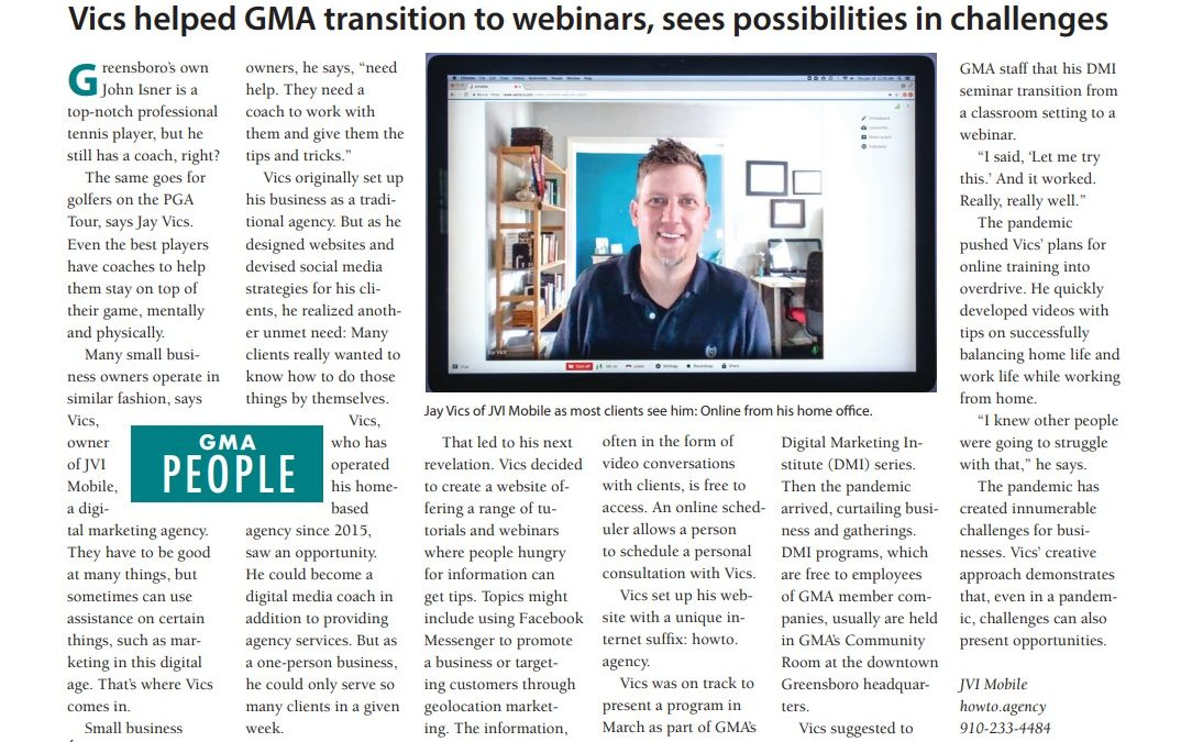 JVI Mobile Featured In Trends Journal