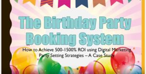 Birthday Party Booking System